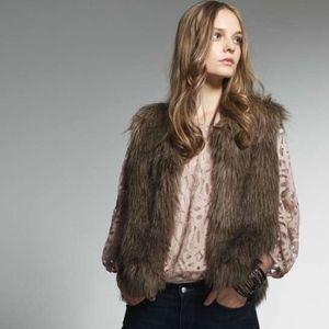 """Sanctuary Clothing """"Natalie Fur Vest **NWOT**"""